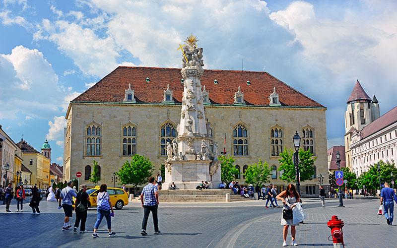 Budapeste-Trinity-Meydani
